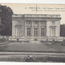 Versailles France Petit Trianon Front towards the French Pavilion Vtg Postcard