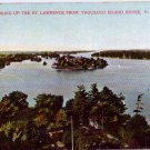New York St Lawrence River From Thousand Island House ca 1910 Vtg NY Postcard