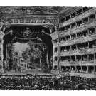 Italy Milano Milan La Scala Opera House Interior Glossy Photo 4X6 Postcard
