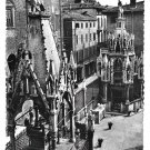Italy Verona Arche Scaligere Scaliger Family Gothic Tomb Glossy Photo Postcard 4X6