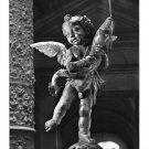 Italy Florence Firenze Palazzo Vecchio Il Putto Cherub Glossy Photo Postcard 4X6