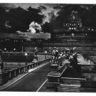 Italy Rome S Angelo Bridge and Castle Night 4X6 Glossy Photo Postcard  Vera Foto