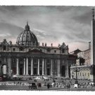 Italy Roma Rome Basilica S Pietro Cathedral Vera Foto 4X6 Glossy Photo Postcard