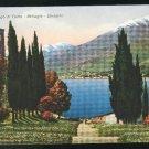 Italy Lago di Como Bellagio Lake Como Cesare Capello Vintage Postcard
