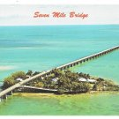 Florida Keys Seven Mile Bridge Pigeon Key Marathon FL Vintage Postcard