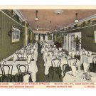 Lion D'Or Table D'Hote Restaurant Dining Room New York City NY Vintage Postcard