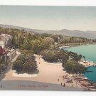 Switzerland Lausanne Port d' Ouchy Le Quai Vintage Photoglob Postcard ca 1910