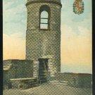Florida Old watch tower at Fort Marion St Augustine FL Vintage Unused Postcard ca 1910