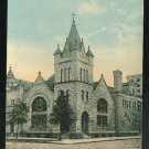 FloridaJacksonville First Christian Church Vintage ca 1910 FL Postcard