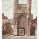 England UK York Monk Bar Celesque Series Vintage Photochrom Postcard