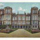 UK England Hardwick Hall Derbyshire Vintage ca 1913 Jackson & Son Postcard