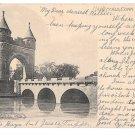 CT Hartford Soldiers Memorial Arch Vintage 1906 UDB Connecicut Postcard