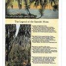 The Legend of Spanish Moss Vintage Postcard Asheville Post Card Co