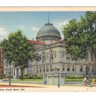 IN South Bend Court House Vintage Curteich 1945 Linen Postcard