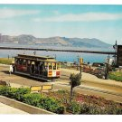 San Francisco CA Cable Car Powell and Hyde Turnaround Vntg H S Crocker Postcard