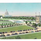 Hotel Continental Washington DC Capitol Plaza View Vintage 1950s Postcard