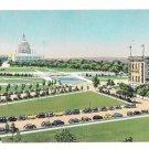 Hotel Continental Washington DC Capitol Plaza View Vintage 1950s Postcard
