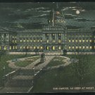 he State Capitol Pennsylvania As Seen At Night Harrisburg PA Vintage Postcard  ca 1915