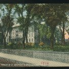 Pennsylvania Park Hotel and PRR Station Williamsport PA Curteich 1914 Postcard
