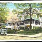 New York Forbush Hotel Inn Peekskill NY Vintage Tichnor  Postcard ca 1930s