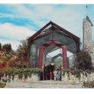 CA Portugese Bend Wayfarers Chapel Frank Lloyd Wright  Vintage Postcard