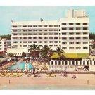 Miami Florida Hotel Resort Sans Souci Swimming Pool View Vintage Postcard
