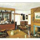Mystic Seaport CT Taproom Schaefers Souter Tavern Interior Vintage Postcard