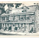Temperance House Restaurant Newtown Bucks County PA Ruth Murray Miller Postcard