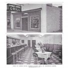 Charleston SC Byrnes Downs Grill 2 Postcards Interior Exterior St Andrews Parish