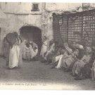 Algeria Storyteller Conteur Arabe au Cafe Maure ca 1910 Algiers Leon Levy LL Postcard