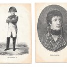 Napoleon Bonaparte Portraits 2 Vintage Werner Art Gallery Gottingen Litho Postcards