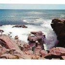 Thunder Hole Acadia National Park Maine Mt Desert Island Vintage Postcard