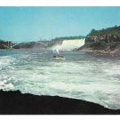 American Falls Maid of the Mist Steamer Ontario Niagara Falls Vintage Postcard