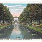 Fairmount Park Horticultural Hall Philadelphia PA Lily Pond Vintage Postcard
