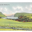 Vermont Willoughby Lake Westmore VT Vintage Tichnor Linen Postcard