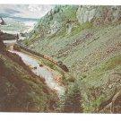 Narrow Gauge Railroad Aerial View Train Animas Canon Silverton CO Vintage Postcard