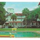 GA Jekyll Island Hotel Club House Vintage C L Marsh Georgia Postcard