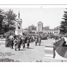 Golden Gate Park San Francisco CA Memorial Museum Seal Pits Vintage Postcard