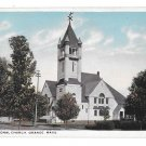 Congregational Church Orange MA Vintage Massachusetts Postcard