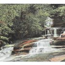 PA Mauch Chunk Waterfall Terrace Cascade Vintage Romans Dept Store Postcard