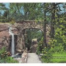 Chattanooga TN Lookout Mountain Entrance to Rock City Vintage Linen Postcard