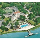 Savannah Inn Country Club Georgia Aerial View Resort Hotel Vtg Postcard