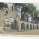 California Riverside Glenwood Mission Inn Entrance Vintage Photostint Postcard