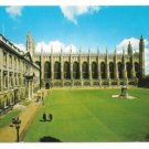 UK King's College Chapel and Gibbs Building Cambridge Vtg Postcard 4X6