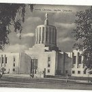 OR Salem Oregon State Capitol 1940s Vintage Mayrose Co  Postcard