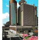GA Atlanta Hyatt Regency Hotel Vtg 4X6 Postcard Larry Witt Photo