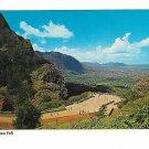 Hawaii Oahu Aerial View Nuuanu Pali Lookout Vtg HIrd Postcard 4X6
