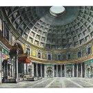 Rome Italy Pantheon Dome Interior Vintage Kodak Ektachorme Postcard 4X6