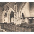 UK Stoke Poges Church Bucks The Thomas Penn Pew Vintage Postcard