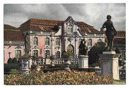 Portugal Queluz National Palace Front Sintra Azereiros Garden Vintage 4X6 Postcard